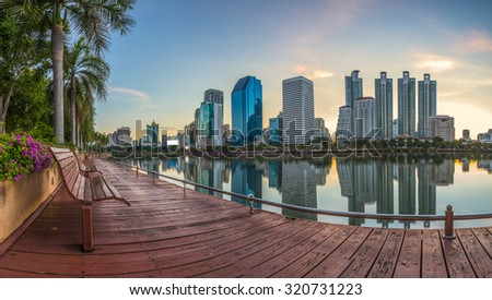 condominium Thailand - stock photo