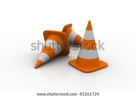 Cone. - stock photo