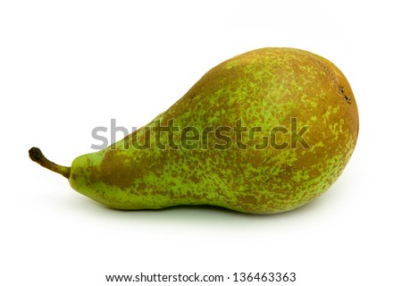 Conference pear - stock photo