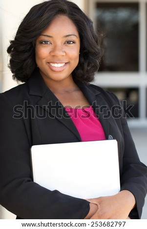 Confident Business Woman - stock photo