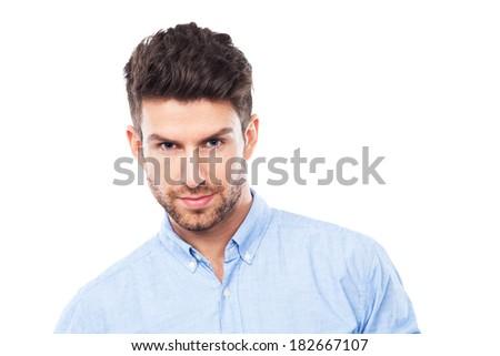Confident man - stock photo