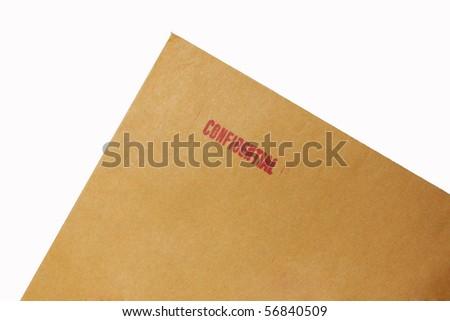Confidential document 2 - stock photo