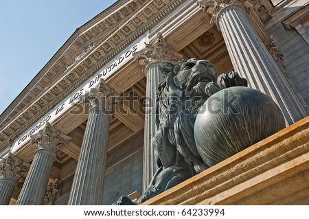 Congress of deputies - stock photo