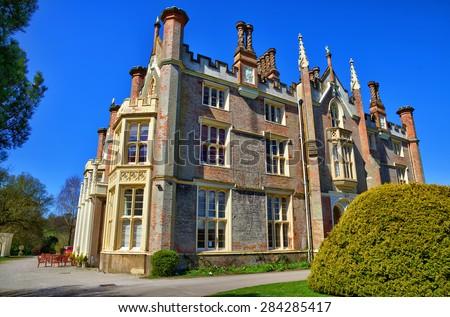 Conishead Priory near Ulverston, Cumbria. - stock photo