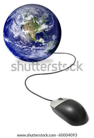 Connected to the world - stock photo