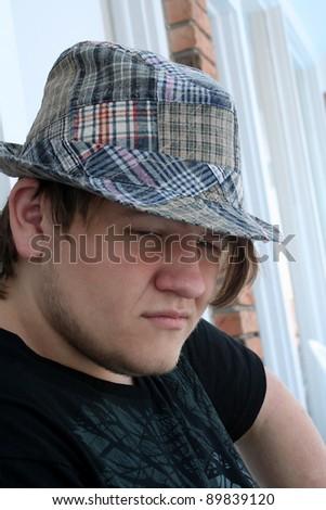 Considering Teenager - stock photo