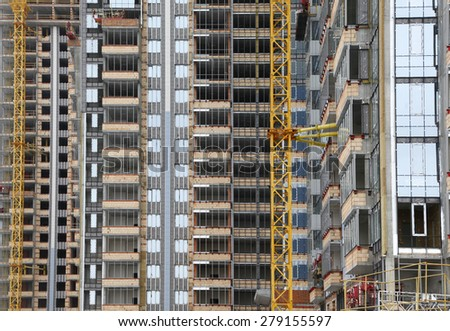 construction background - stock photo