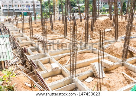 Construction Buildings and homes. - stock photo