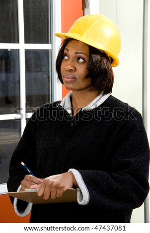 Construction Inspector - stock photo