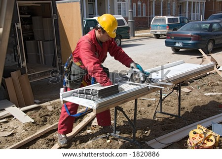 construction people worker - stock photo