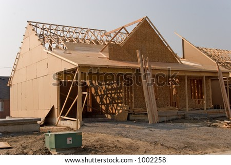 construction 03 year 2005 Oshawa - stock photo