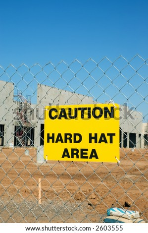 Construction Zone - stock photo