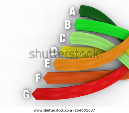 Consumption energy efficiency, energy saving - stock photo