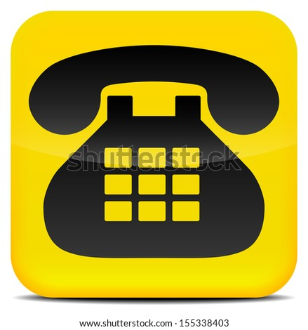 Contact Icon JPG - stock photo