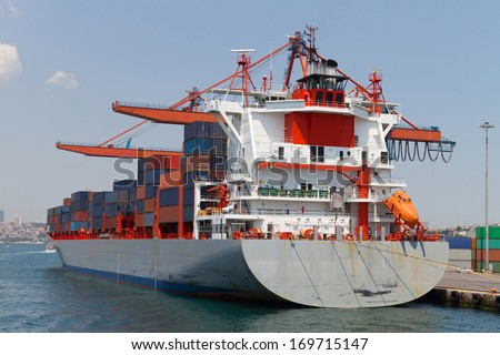 Container Ship - stock photo