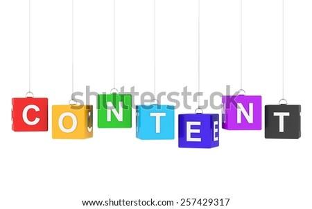Content - stock photo