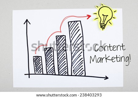 Content Viral Marketing Concept - stock photo