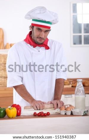 Cook - stock photo