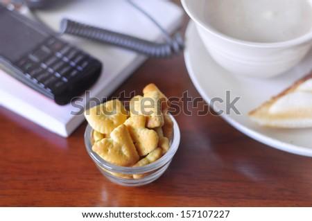 Cookie alphabet - stock photo