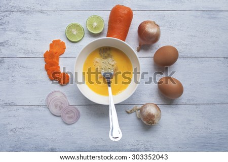 Cooking background concept - stock photo