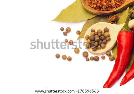 Cooking ingredients,spice - stock photo