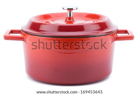 Cooking Pot - stock photo
