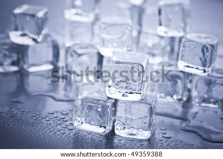 Cool background - stock photo