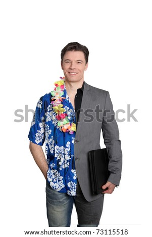 Cool business and vacation time - stock photo