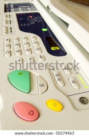copier - stock photo