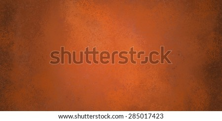copper orange background, autumn halloween or thanksgiving - stock photo