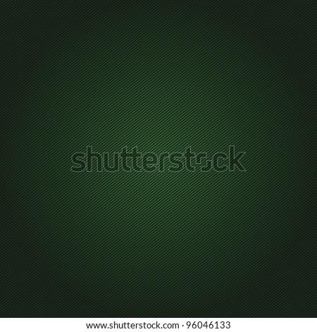 Corduroy green background - stock photo