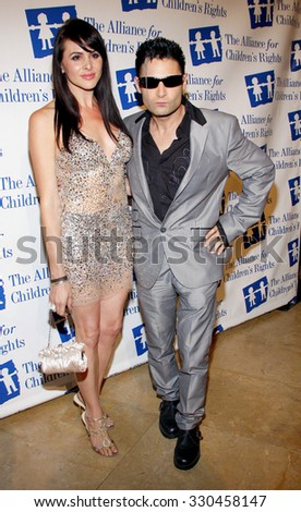 Corey Feldman at the Alliance for Children's Rights Dinner Honoring Kevin Reilly held at the Beverly Hilton Hotel in Beverly Hills, USA on March 1, 2012. - stock photo