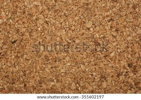 cork board close up, cork board textures - stock photo