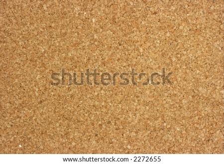 Corkboard texture - stock photo