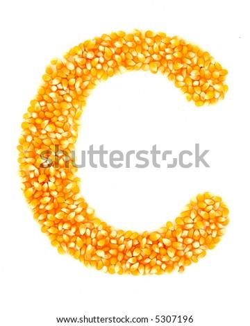 Corn C - stock photo
