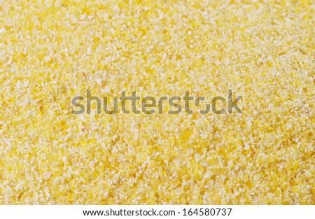 Corn flour background. - stock photo