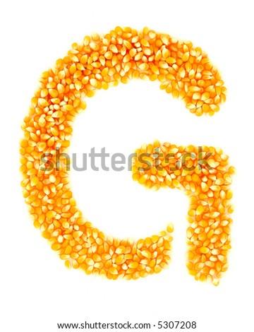 Corn G - stock photo