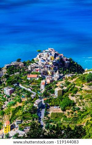 Corniglia, Cinque Terre , Italy - stock photo