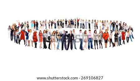 Corporate Culture Team Together  - stock photo