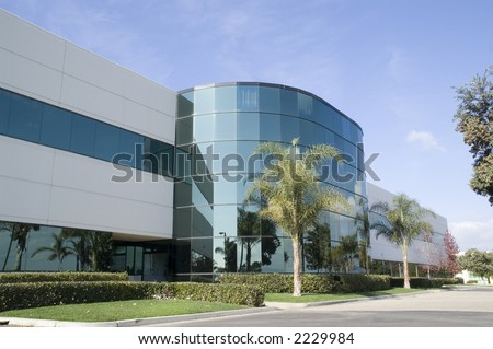 Corporate Headquarters - stock photo