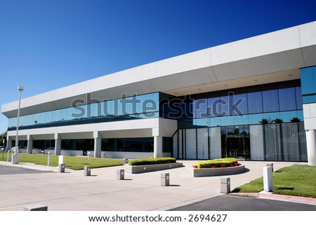 Corporate Headquarters - stock photo