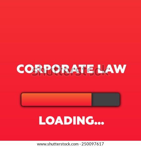 CORPORATE LAW - stock photo