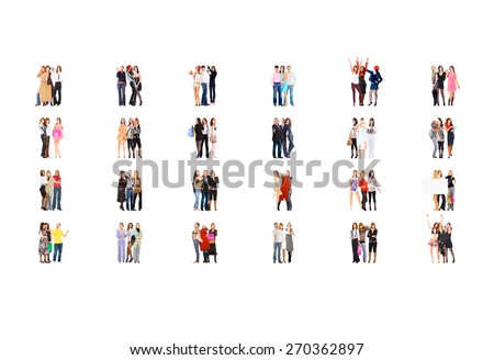 Corporate Teamwork Workforce Concept  - stock photo