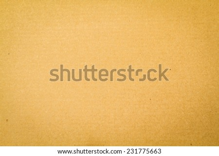 Corrugated cardboard as background and texture - stock photo