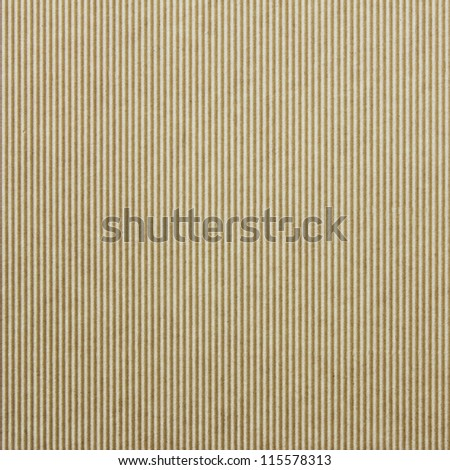Corrugated cardboard background texture - stock photo