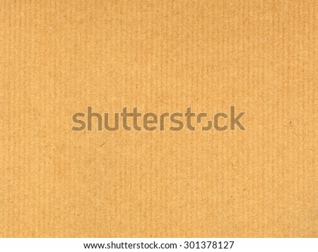 corrugated cardboard texture useful as a background - stock photo