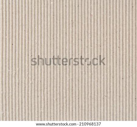 Corrugated fiberboard macro texture. Angled, square format.  - stock photo