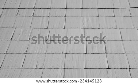 Corrugated metal texture surface background - stock photo