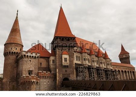 Corvin Castle, Transylvania, Romania - stock photo