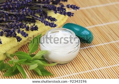 Cosmetic  cream - stock photo